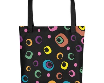 Licorice Candy style Tote bag