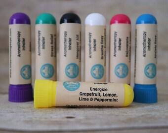 Aromatherapy Inhaler - Energize