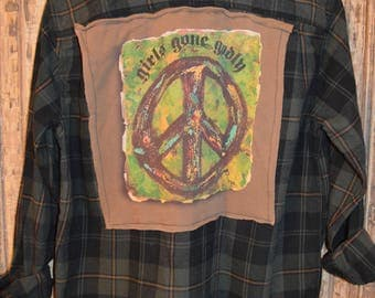Up-Cycled Flannel