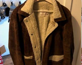 Jacket Suede Sheepskin