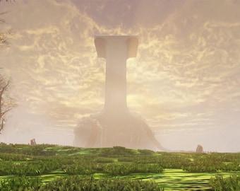 I -Levitating island