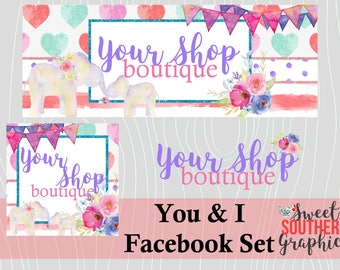 You & I Facebook Set