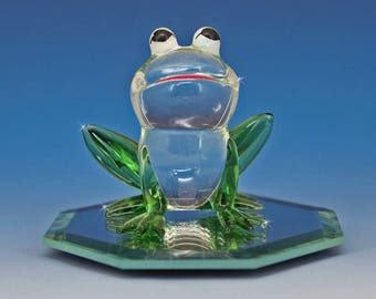 Handmade Glass Frog