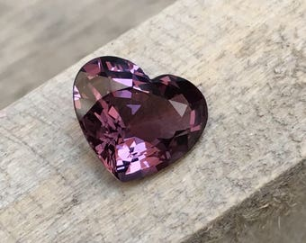 3.30 Carate Beautiful Faceted Purple Color Spinel From Burma With Beautiful Color and Luster.