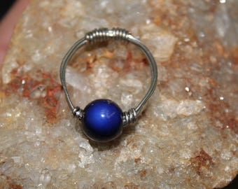 wire wrapped mood ring!