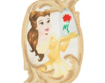 designer Wrights Disney Princess Bell-Beauty and the Beast Iron-On Applique