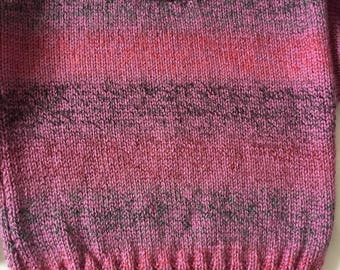 Pink and purple girls jumper