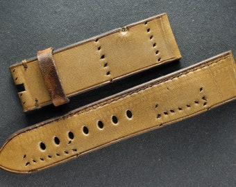 Watchstrap from AMMO leather | Brusnitcyn