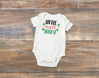St Patrick  day baby girl outfit.