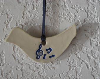 Dove Ornament Music