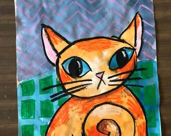 Pattern Cat, Ginger