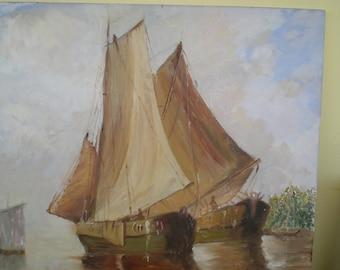 Ship through the ocean