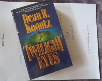 "Dean Koontz  ""Twilight Eyes""  Paperback  NEW"