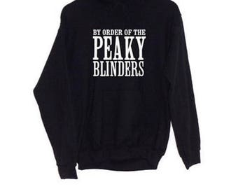 By Order of the Peaky Blinders | Hoodie Shelby Brothers BBC TV Show Fan Clothing