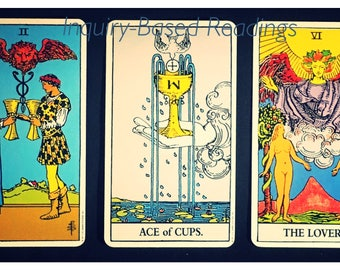 Inquiry-Based Tarot Readings (with Open Reading!)