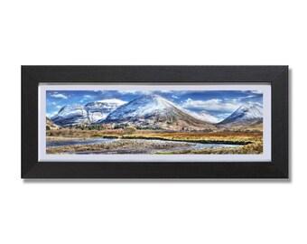 Glencoe Village Framed Print, by Stuart Readman