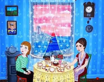 The guest - original artwork