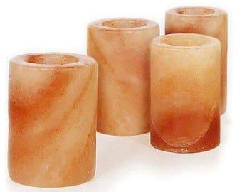Natural Himalayan Pink Salt Shot Glasses