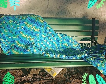 Mermaid tail snuggle