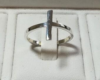 Plain silver(925) ring