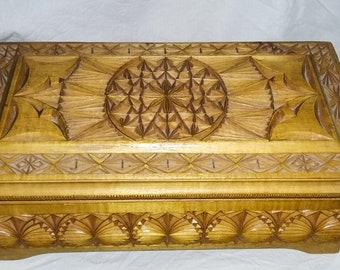 Big wood box