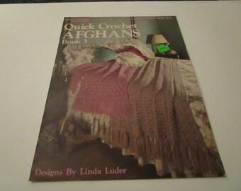 Leisure Arts Quick Crochet Afghans Book 3 - Leaflet 324