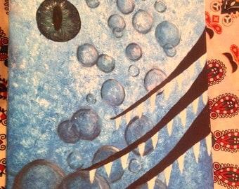 Eye Underwater painting