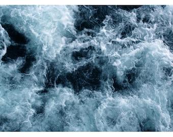 Fine Art Photograph - Nature Photograph - Ocean Art - Summer Print - Water- Lake Superior #3- Beach Photograph - Home Decor - Nautical Decor
