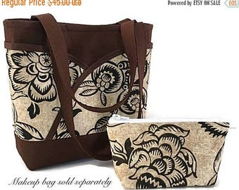 SALE Fabric handbag, Purse, handbag, tote, shoulder bag, handbags  and totes, purse with pockets, gift for women