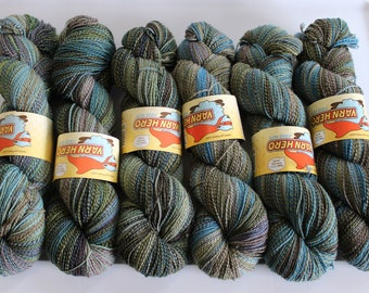 Single marl yarn
