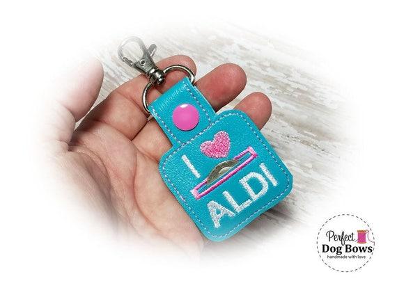 Aldi Quarter Keeper//Quarter Holder//Coin Keeper//Quarter Keychain//Coin Pouch