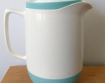 vintage Vacron Bopp Decker pitcher aqua