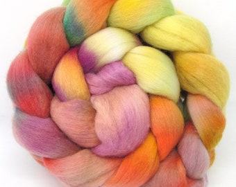 Merino Wool Hand Dyed Fine Combed Top 21 Micron 100gms - FM57