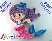 MERMAID crochet Pattern