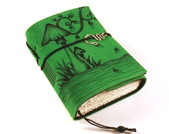 Journal, Leather, Diary, Notebook, Secret Garden