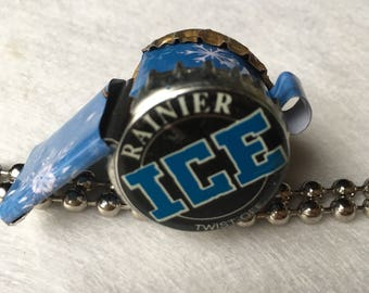 Whistle RUSTY | Bottlecap Whistle | Noise Maker | Toy Whistle | Snow Flake | Ice | winter