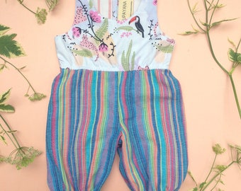LIMITED EDITION baby toddler kids jungle one piece Supayana