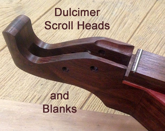 Dulcimer Building Supplies - Scroll Heads