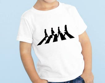The Beatles Abbey Road Baby or Toddler Gift Set T-Shirt & Optional Gift Box