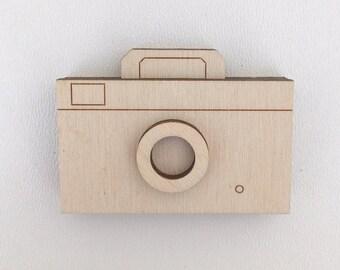 Mini camera wood