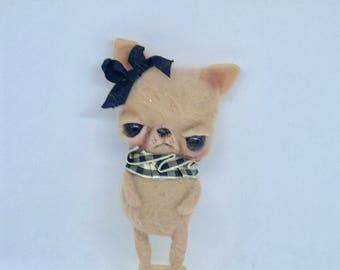 Chelsea the chihuahua oak art doll