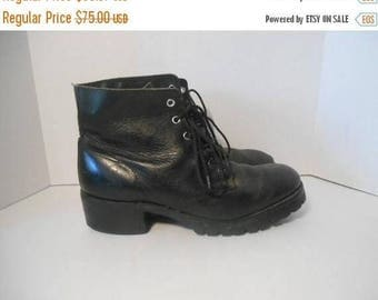 Closing Shop 40%off SALE Mens Vintage FRYE black Leather Boots Usa Size 10 M ?            riding engineer