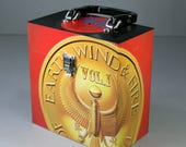 45 Record Case 7-inch Vinyl - Handmade from Recycled Record - The Best Of Earth Wind & Fire Vol. I