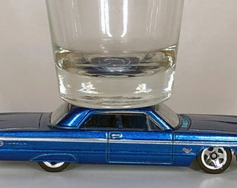 The ORIGINAL Hot Shot, Shot Glass, '64 Chevy Impala,Hot Wheel car