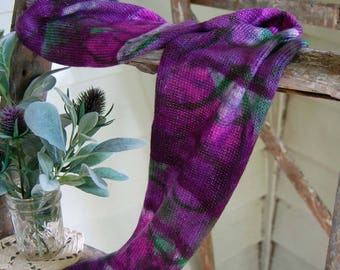 Sparkle sock Blank - Grape Abstract