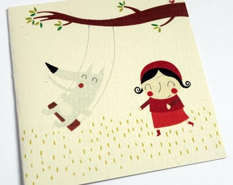 Card on the swing C093