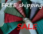 50% SALE Plush Picot Elastic Choose COLOR 12mmx10m FREE Shipping by Merckwaerdigh