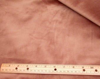 Fabric Yardage - 4.5 yards - Brown Corduroy - Stretch Corduroy - destash - 24 wale