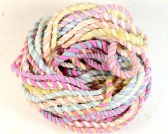 candy crush 5   ... handspun yarn set, weaving creative yarn bundle, hand spun, hand dyed yarn, handspun art yarn