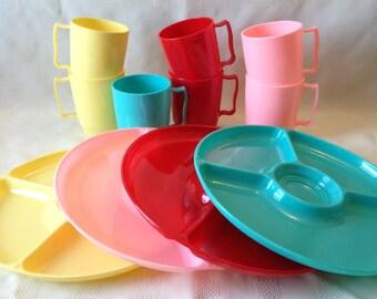 Gothamware Picnic Dishes, Vintage
